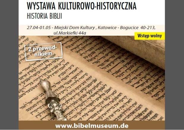 Wystawa o Biblii w Katowicach