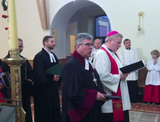Ekumeniczne spotkanie strażaków