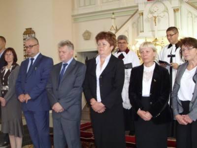 Wprowadzenie nowej rady parafialnej w Wirku