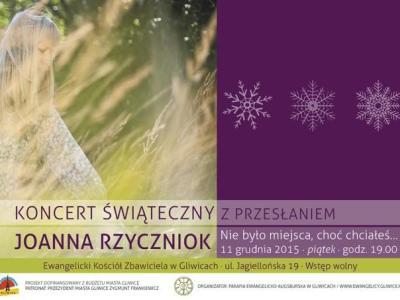 Koncert świąteczny w Gliwicach