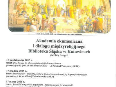 akademia ekumeniczna