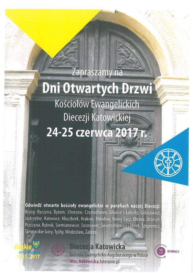 Dni Otwartych Drzwi  Kościołów Ewangelickich
