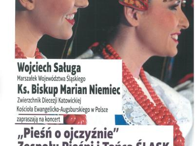 "KONCERT ZESPOŁU ""ŚLĄSK"""