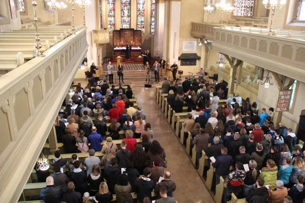 Diecezjalne spotkanie konfirmantów