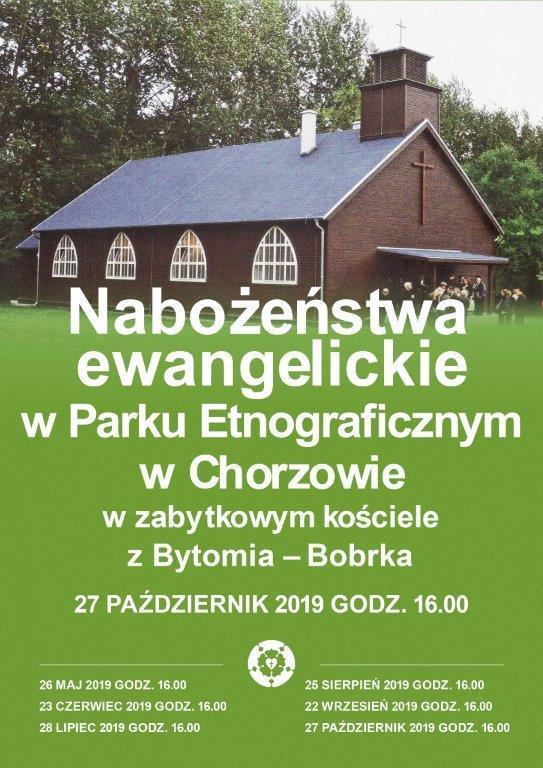 Nabożeństwo w Parku Etnograficznym
