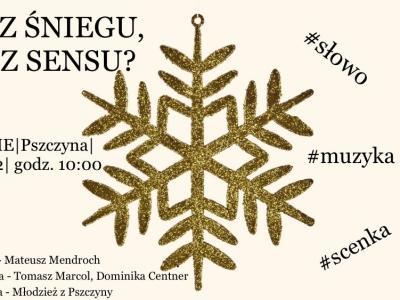 Zapraszamy na Diecezjalne Spotkanie Młodzieży do Pszczyny 27.12.2019 r.